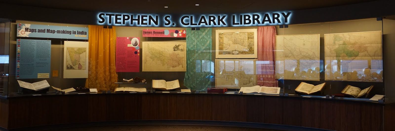 Image of the Clark Library entrance