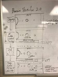 Whiteboard Design Sketches