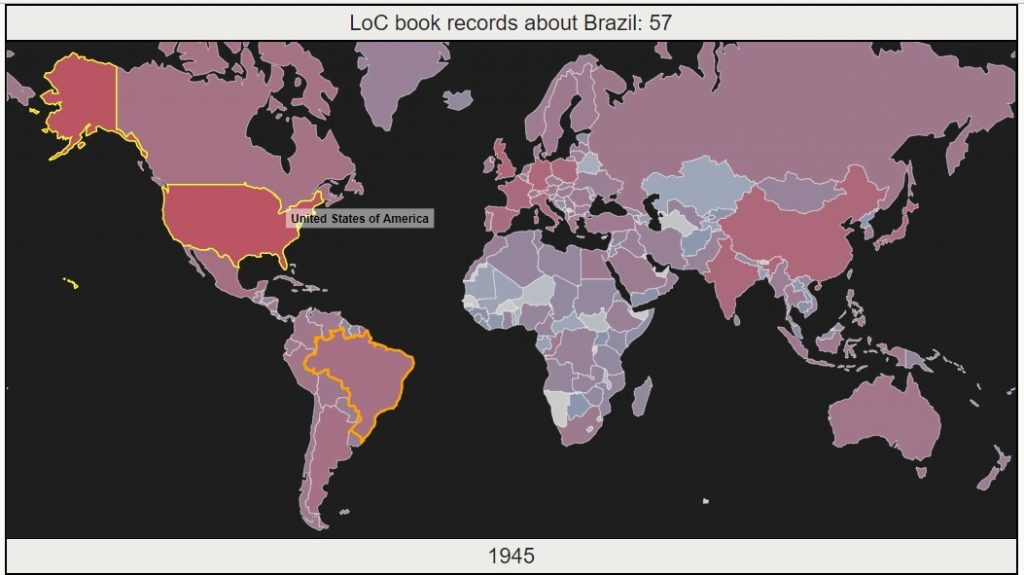 Mapping with D3: Library of Congress books over time – Clark | Labs